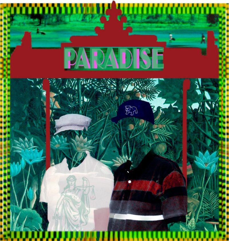 "Paradise, archival inkjet 42"" x 40"" (image 33.5"" x 32""), Edition 100 & 25"" x 24"", (image 18.5"" x 17.75""), Edition 50"