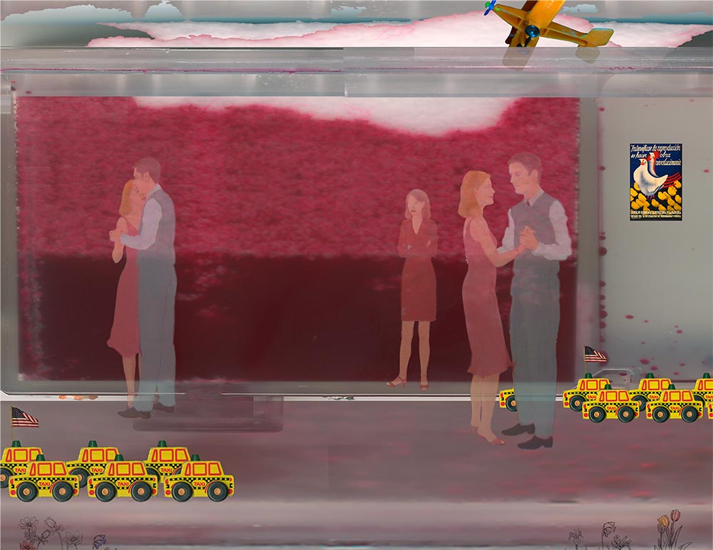 """Taxi Tanks Save the World, archival inkjet, 28"""" x 34"""" (image 21.5"""" x 28""""), Edition 50 & 13"""" x 19"""" (image 10"""" x 13""""), Edition 50"""